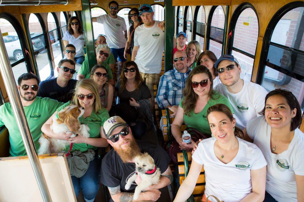 brewhop trolley in longmont colorado