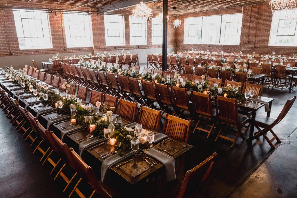Industrial wedding venue in Denver Colorado, Moss Event Venue