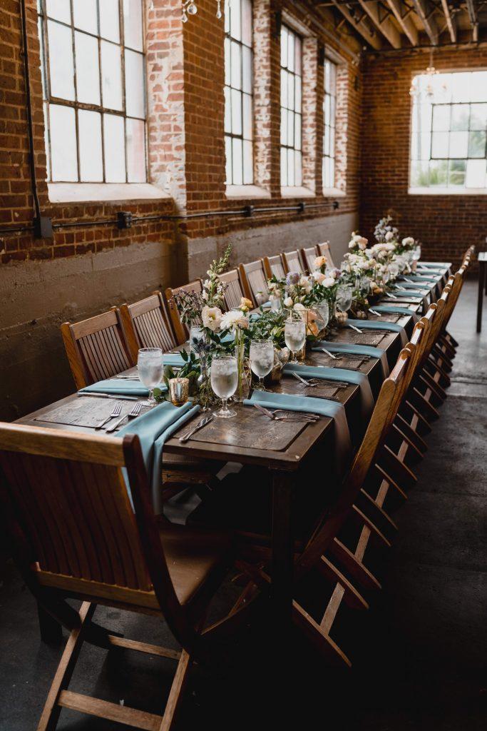 Industrial vintage wedding in Denver CO